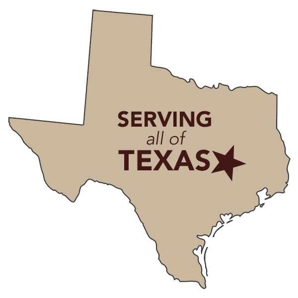Serving all of Texas